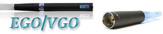 Электронные сигареты с танк-картриджами модели EGO - VGO